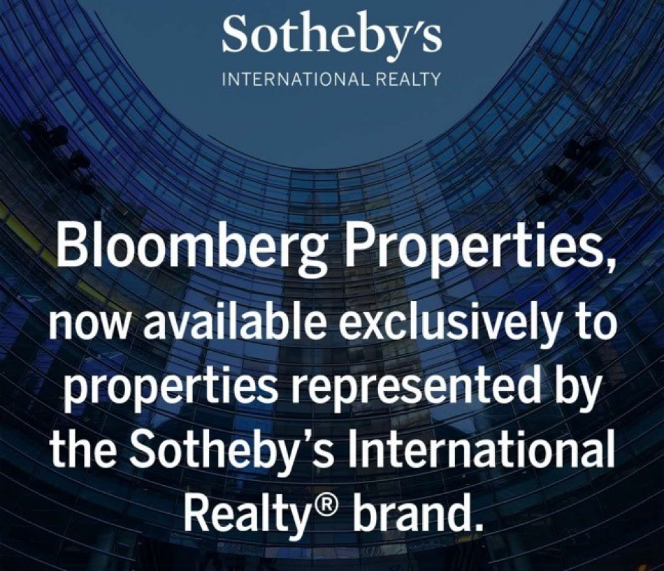 SOTHEBY'S & NEW PARTNERSHIP WITH BLOOMBERG