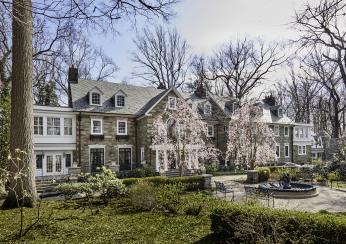 Stately Stone Mansion