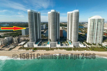 Home for Sale at 15811 Collins Ave #2406, Sunny Isles Beach FL 33160