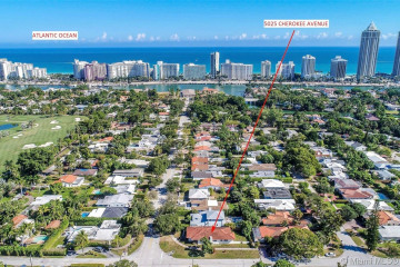 Home for Sale at 5025 Cherokee Ave, Miami Beach FL 33140