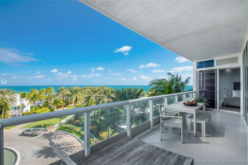 Home for Sale at 100 S Pointe Dr #609, Miami Beach FL 33139