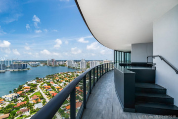 Home for Sale at 18555 Collins Ave #3203, Sunny Isles Beach FL 33160