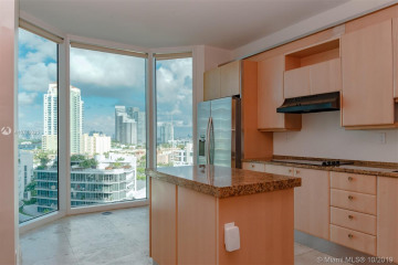 Home for Rent at 300 S Pointe Dr #1206, Miami Beach FL 33139