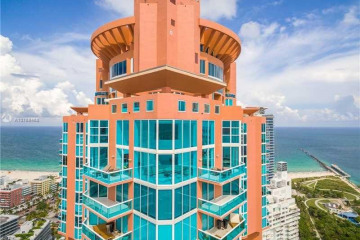 Home for Rent at 300 S Pointe Dr #LPH2, Miami Beach FL 33139