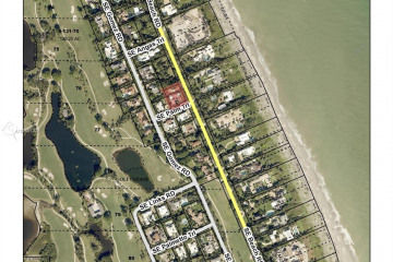 Home for Sale at 44 S Beach Rd, Hobe Sound FL 33455