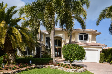Home for Sale at 1055 Del Harbour Drive, Delray Beach FL 33483