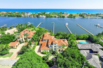 Home for Sale at 1200 SE Atlantic Drive, Manalapan FL 33462