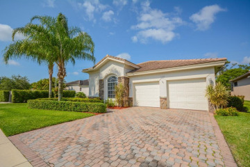 Home for Sale at 11130 Osprey Lake Lane, West Palm Beach FL 33412