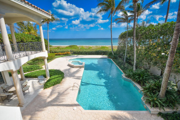 Home for Sale at 1357 N Ocean Boulevard, Gulf Stream FL 33483
