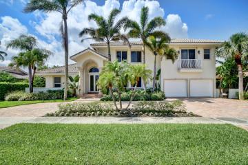 Home for Sale at 854 NE Mulberry Drive, Boca Raton FL 33487