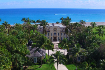 Home for Sale at 211 S Beach Road, Hobe Sound FL 33455