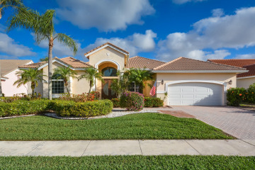Home for Sale at 7663 Bridlington Drive, Boynton Beach FL 33472