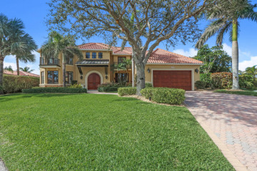 Home for Sale at 17109 SE Limrick Court, Tequesta FL 33469