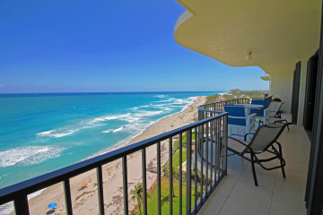 Home for Rent at 100 Beach Road #PH-B, Tequesta FL 33469