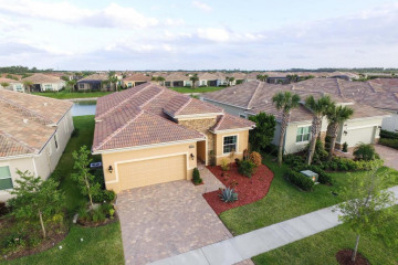 Home for Sale at 18025 SW Cosenza Way, Port Saint Lucie FL 34986