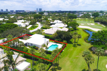 Home for Sale at 1001 Lake House Drive, North Palm Beach FL 33408