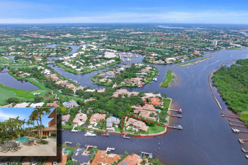 Home for Sale at 199 Commodore Drive, Jupiter FL 33477