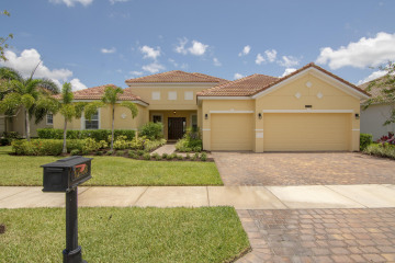 Home for Sale at 12158 SW Aventino Drive, Port Saint Lucie FL 34987