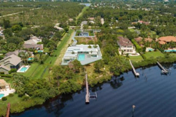Home for Sale at 0000 SE County Line Road, Tequesta FL 33469