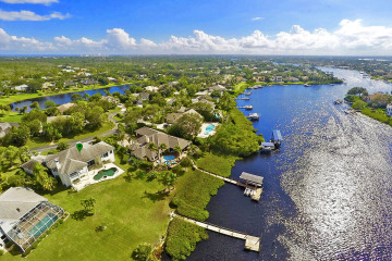 Home for Sale at 18411 SE Lakeside Drive, Tequesta FL 33469