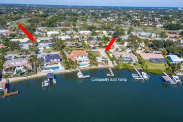 Home for Sale at 100 River Drive, Tequesta FL 33469