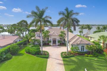 Home for Sale at 191 River Drive, Tequesta FL 33469