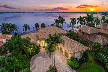Home for Sale at 681 SW Bay Pointe Circle, Palm City FL 34990