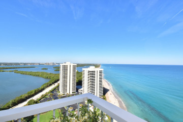 Home for Rent at 5510 N Ocean Drive #25C, Singer Island FL 33404