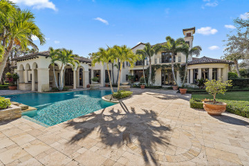 Home for Sale at 162 Bears Club Drive, Jupiter FL 33477