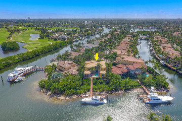 Home for Sale at 812 Harbour Isle Court, North Palm Beach FL 33410