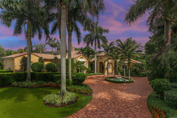 Home for Sale at 11716 Tulipa Court, Palm Beach Gardens FL 33418