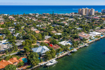 Home for Sale at 2105 N Riverside Drive, Pompano Beach FL 33062