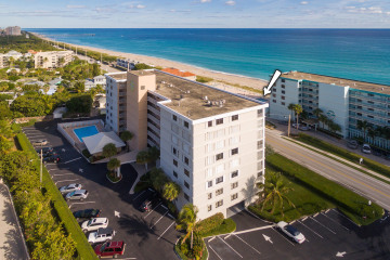 Home for Sale at 911 Ocean Drive #801, Juno Beach FL 33408