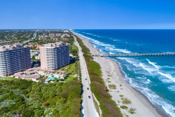 Home for Sale at 700 Ocean Royale #603, Juno Beach FL 33408