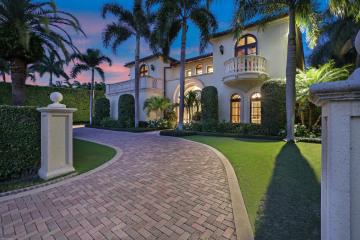 Home for Sale at 560 Island Drive, Palm Beach FL 33480