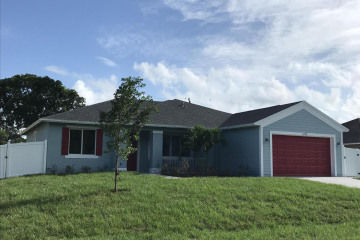 Home for Sale at 1493 SW Herder Road, Port Saint Lucie FL 34953