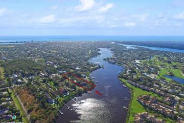 Home for Sale at 19050 SE County Line Road, Tequesta FL 33469