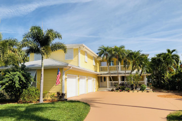 Home for Sale at 1320 SW Dyer Point Road, Palm City FL 34990