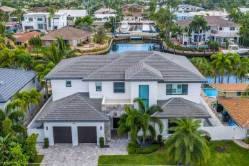 Home for Sale at 2360 NE 48th Court, Lighthouse Point FL 33064