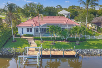 Home for Sale at 8798 SE Riverfront Terrace, Tequesta FL 33469