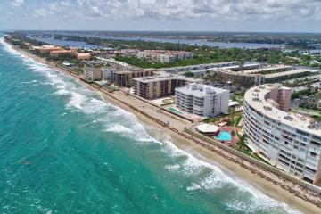 Home for Sale at 3589 S Ocean Boulevard #802, South Palm Beach FL 33480