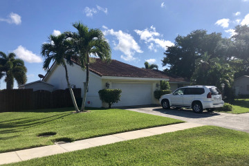 Home for Rent at 2734 N Patrick Circle, West Palm Beach FL 33406
