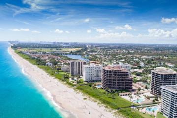 Home for Sale at 570 Ocean Drive #302, Juno Beach FL 33408