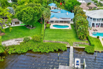 Home for Sale at 9666 SE Landing Place, Tequesta FL 33469