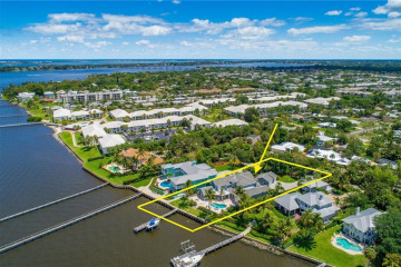 Home for Sale at 2021 SE Riverside Drive, Stuart FL 34996