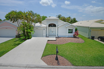 Home for Sale at 5640 American Circle, Delray Beach FL 33484