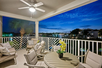 Home for Sale at 634 Bay Colony Drive S #WITH BOAT SLIP, Juno Beach FL 33408