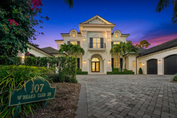 Home for Sale at 107 W Bears Club Drive, Jupiter FL 33477