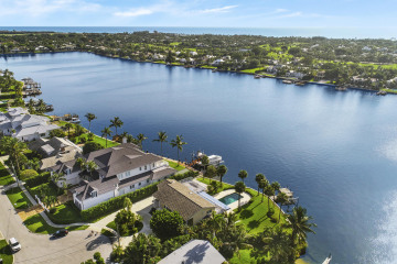 Home for Sale at 11670 Lake Shore Place, North Palm Beach FL 33408
