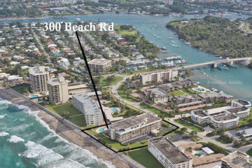 Home for Sale at 300 S Beach Road #405, Jupiter FL 33469